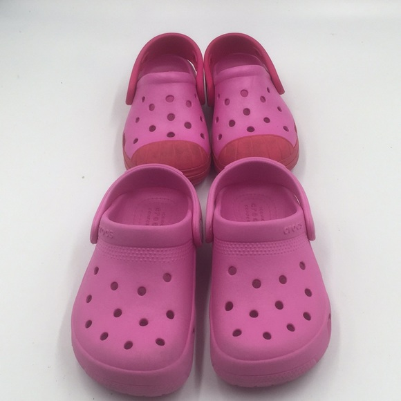CROCS Shoes | 2 Pair Of Girls Size 8